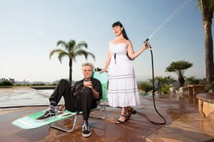 Producers Dan and Rhiannon of Anatomik Media, photographed on location near Los Angeles this month