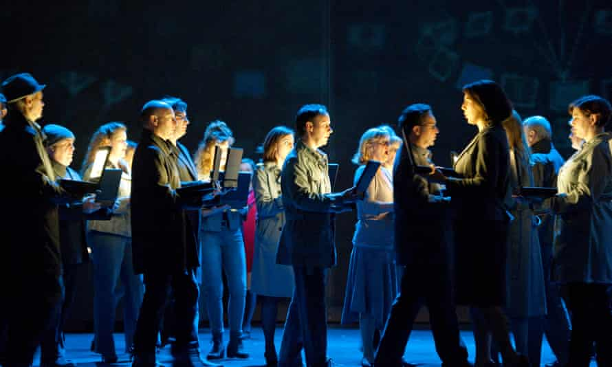 A scene from Two Boys by Nico Muhly, a co-production between ENO and Metropolitan Opera.