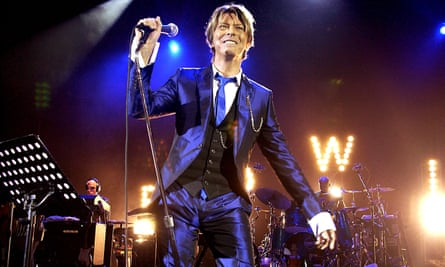 David Bowie, pictured at 66.