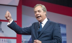 Nigel Farage, who championed Brexit, was lauded at CPAC.