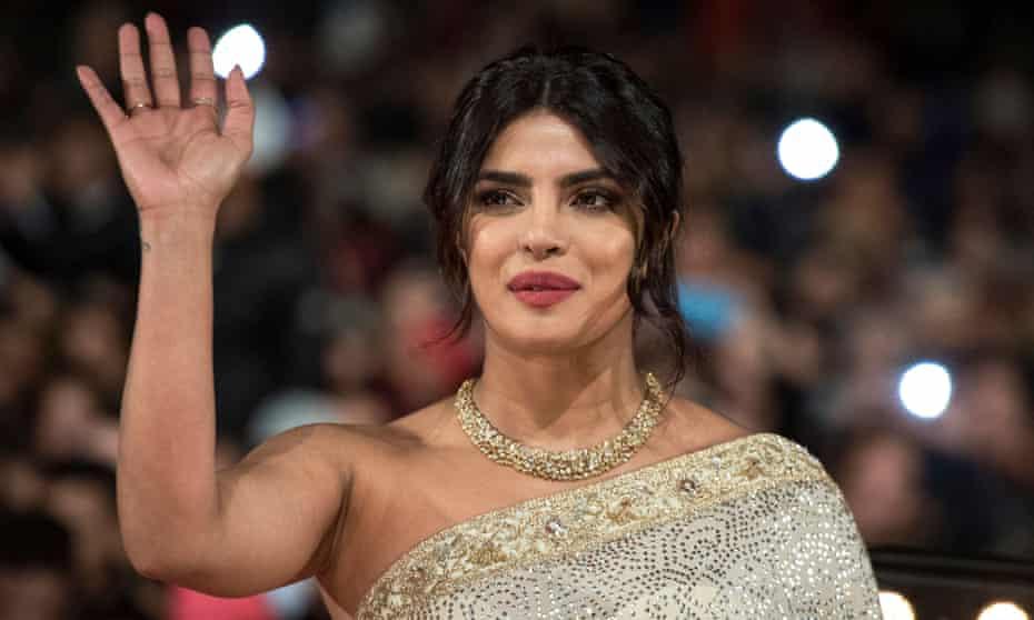 The actor Priyanka Chopra