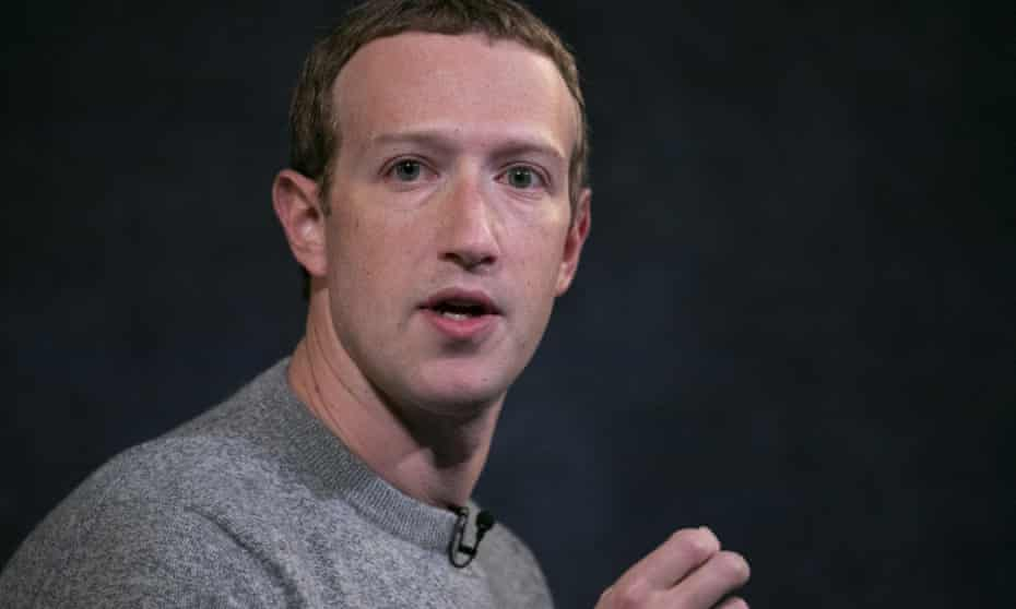 Mark Zuckerberg: 'I just believe strongly that Facebook shouldn't be the arbiter of truth of everything that people say online.'
