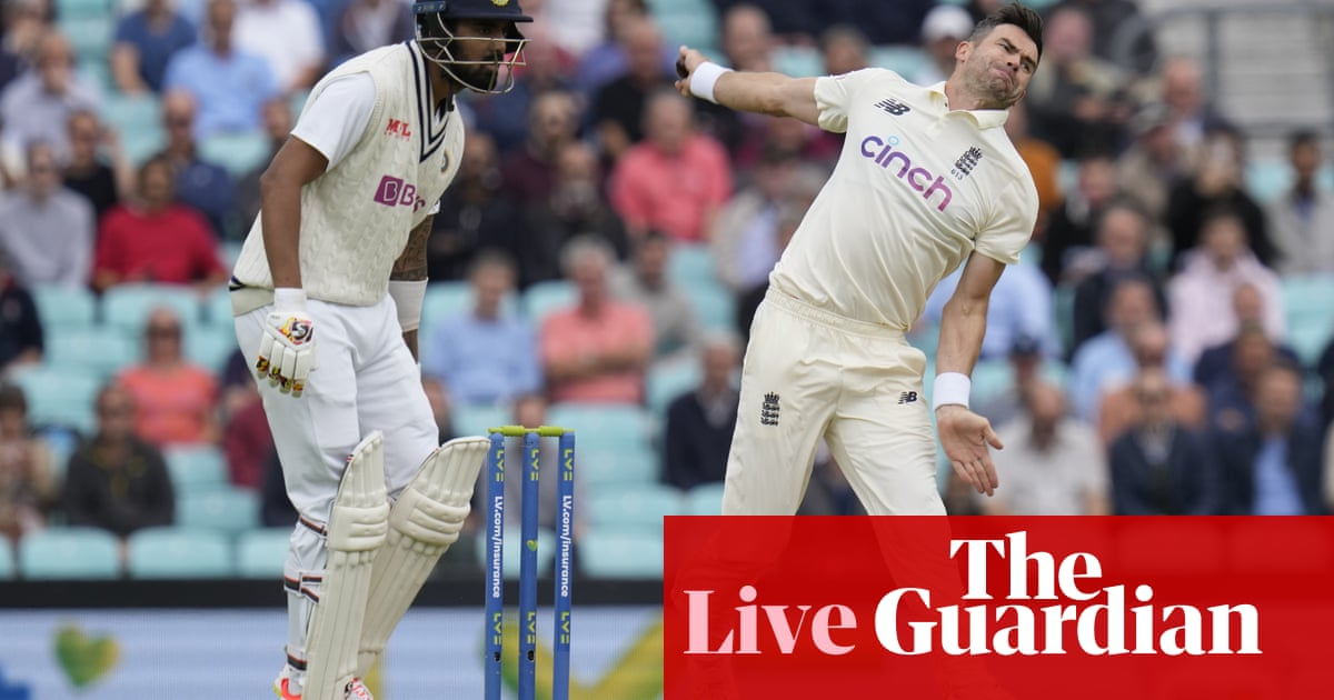 England v India: fourth Test, day one – live!