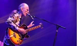 Steve Howe of Yes in Glasgow on 16 March.