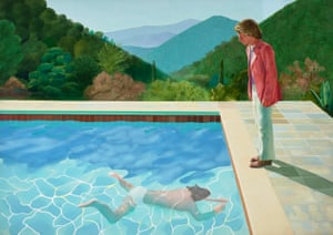 Portrait of an Artist (Pool with Two Figures), 1972 David Hockney.