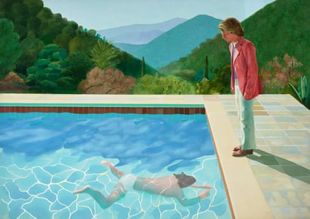 'Psychological as well as physical space' … Portrait of an Artist (Pool With Two Figures), 1972.