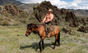 Strongman Putin, but what was the rationale behind this topless shoot?