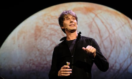 Professor Brian Cox presenting Holst's The Planets at the Barbican, September 2018