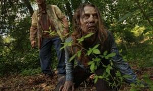 Elizabeth Davidovich is a walker on AMC's The Walking Dead