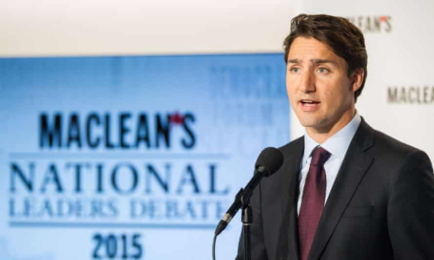 Justin Trudeau and his hair.