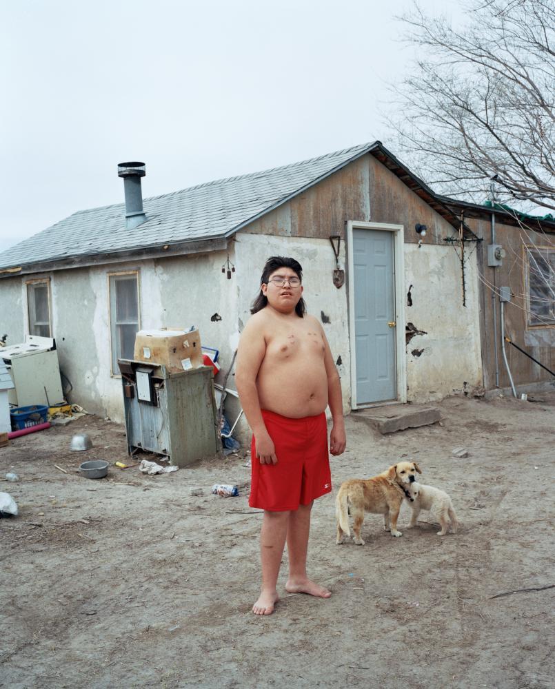 Richard Toledo, Oglala, from Kalpesh Lathigra's series Lost in the Wilderness