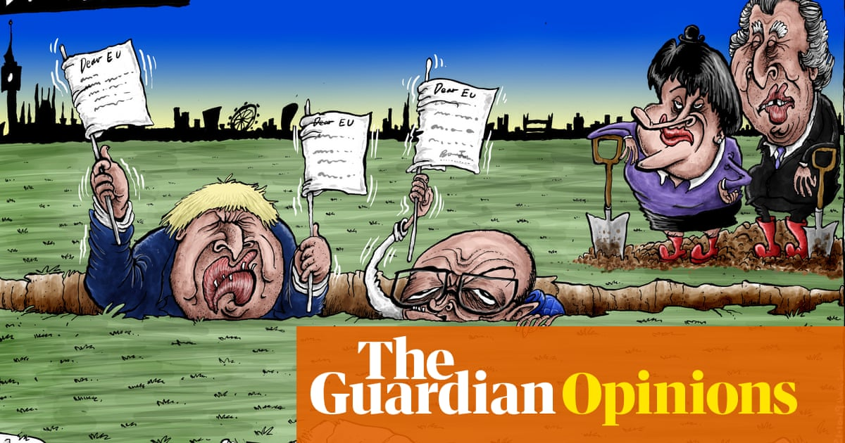 Brian Adcock On Boris Johnson S Brexit Pledge Cartoon Opinion