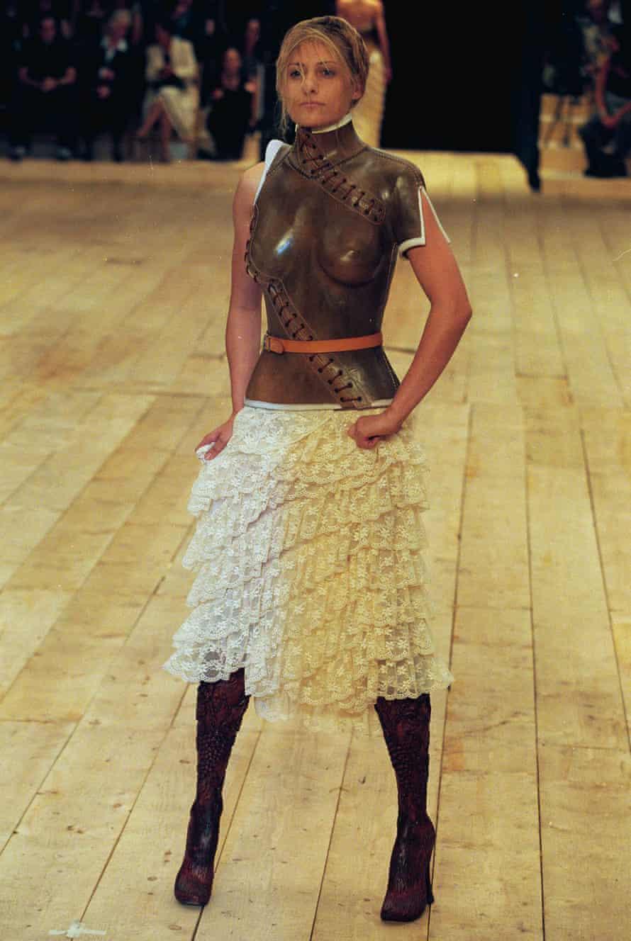 Aimee Mullins for Alexander McQueen SS99