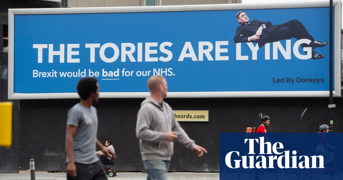 Get ready for Brexit satire: Led By Donkeys launches billboard contest