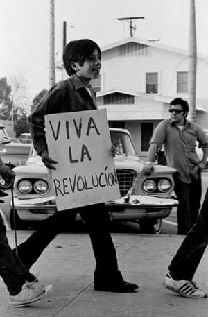 Viva La Revolución. Circa 1968 by Pedro Arias. As featured in La Raza.