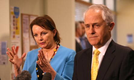 Sussan Ley and Malcolm Turnbull