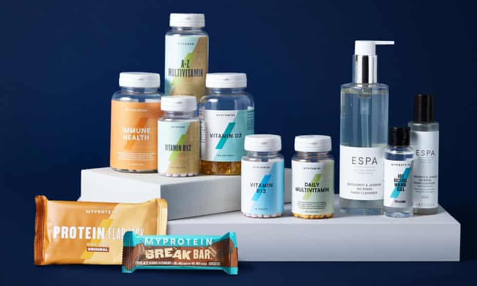 Myprotein products