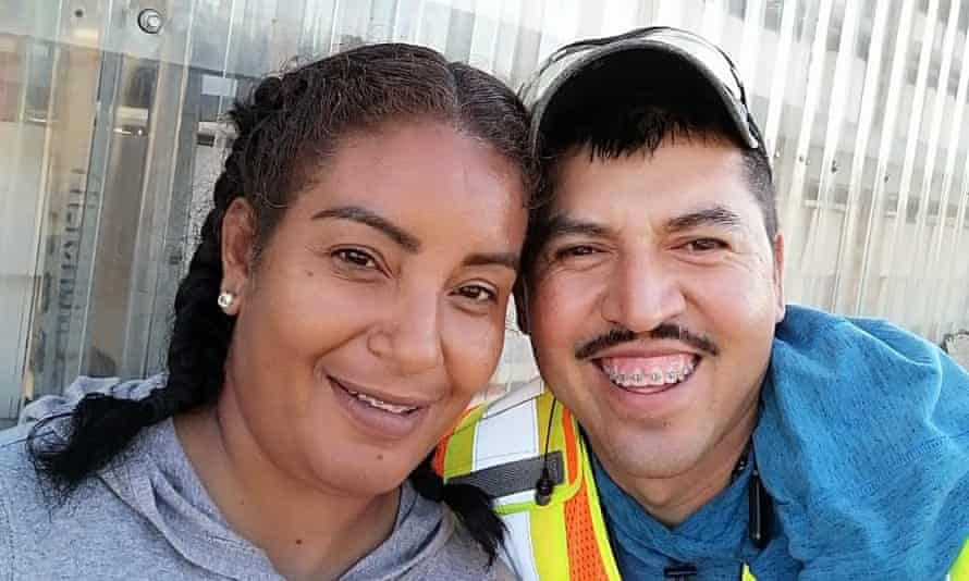 Erika Zavala and Jesus Molina, who were sent back to Mexico from their farm jobs in British Columbia.