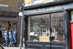Trois Garcons, London, 2011. by Michael Goldrei