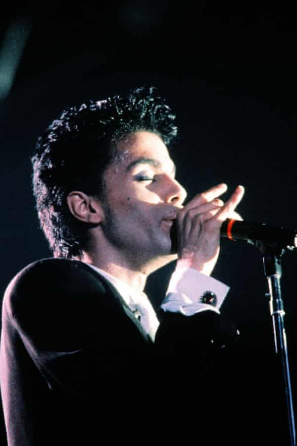 Prince in 1986.