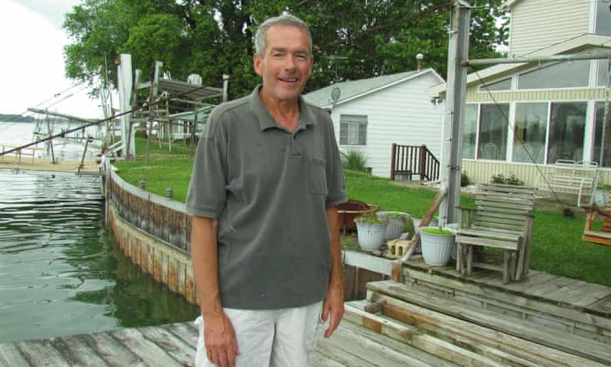 Tom Pape at Buckeye dam