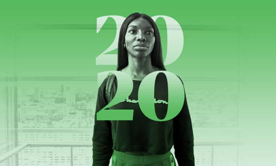 Michaela Coel in I May Destroy You.