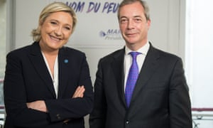 Nigel Farage on LBC, and French presidential candidtate Marine Le Pen