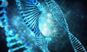 Human DNA string