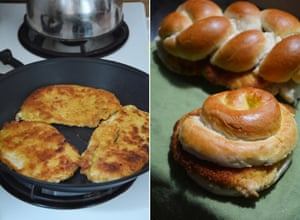 Rachel Roddy's breaded chicken sandwich: 'There also had to be something impanato – in breadcrumbs. A vote was taken, and chicken won.'