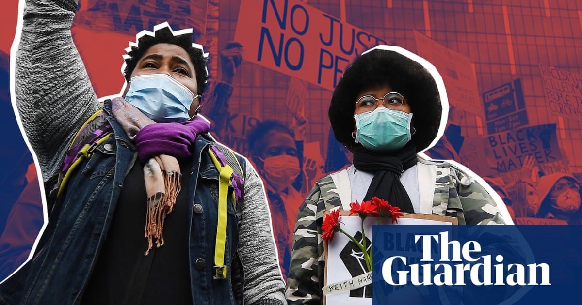 'Just the beginning': voices from the Black Lives Matter protest in London – video