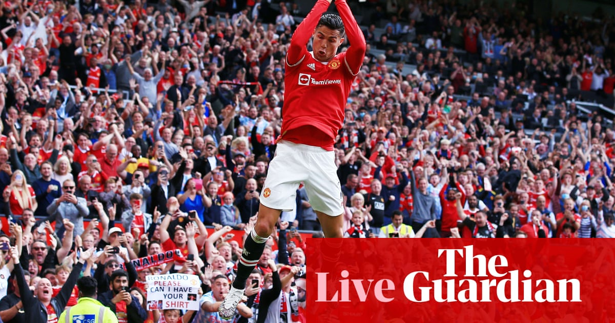 Ronaldo scores twice as Man Utd beat Newcastle: clockwatch – as it happened  | Football | The Guardian