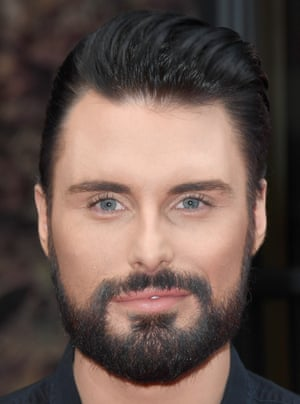 Head shot of TV star Rylan Clark-Neal