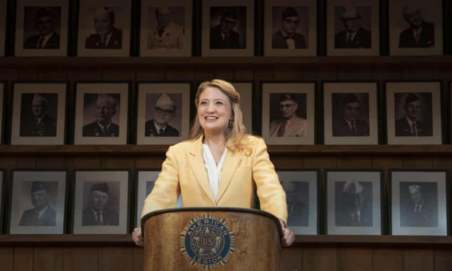 Glides between comedy and tragedy ... Heidi Schreck in What the Constitution Means to Me.