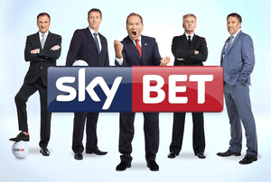 SkyBet advert featuring Paul Merson.