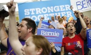 Bernie Sanders Hillary Clinton supporters