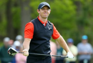 It's not been a good day for Rory McIlroy.