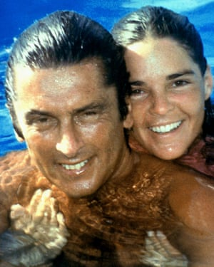 Robert Evans with his former wife Ali MacGraw.