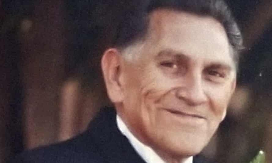 A 2009 photo provided by Catherine Quintana shows her father, Ernest Quintana, in Fremont, California.