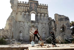 Mogadishu was once a flourishing economic and cultural capital but much of its architectural heritage has been obliterated by war.
