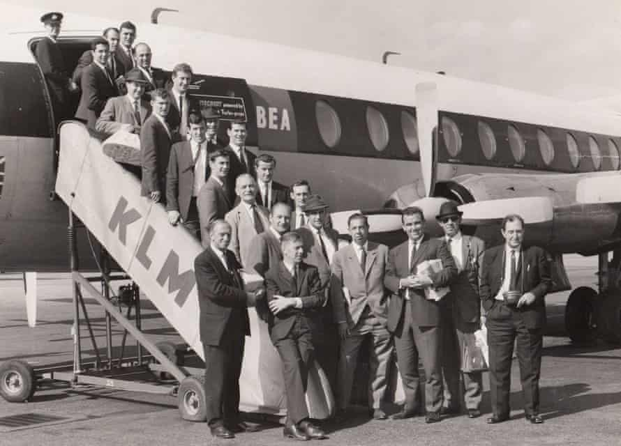Rex Sellers and his team-mates from the 1964 Australian side that travelled to Amsterdam to play against the Netherlands.