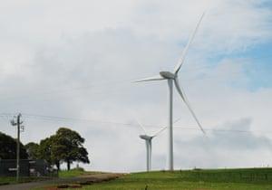 Hepburn Wind Farm, Victoria, Australia.