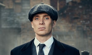 Razor sharp: as Tommy Shelby, Birmingham gangster in Peaky Blinders.