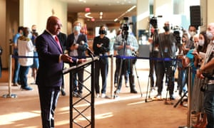 Abdulla Shahid, president of the 76th session of the United Nations General Assembly, at the event's opening on Tuesday.