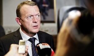 Danish Liberal party leader Lars Loekke Rasmussen