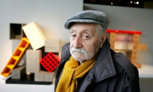 Ettore Sottsass, the founder of the Memphis Group and the focus of a new exhibition at the Met Breuer