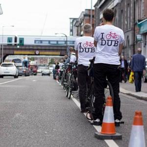I Bike Dublin defend cycle lanes.