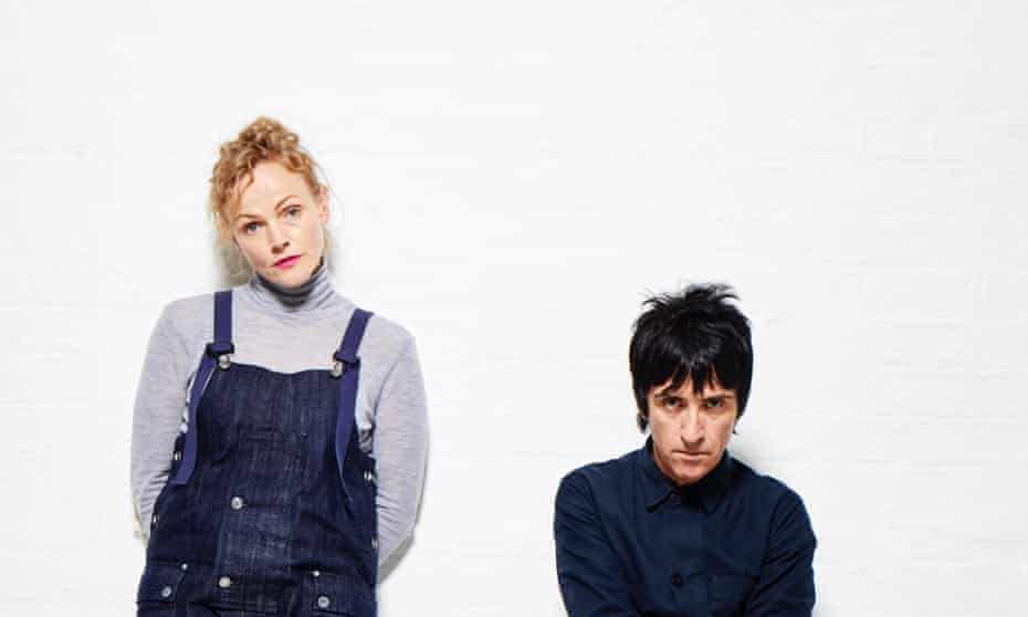 Johnny Marr and Maxine Peake … 'It's about asking questions.'