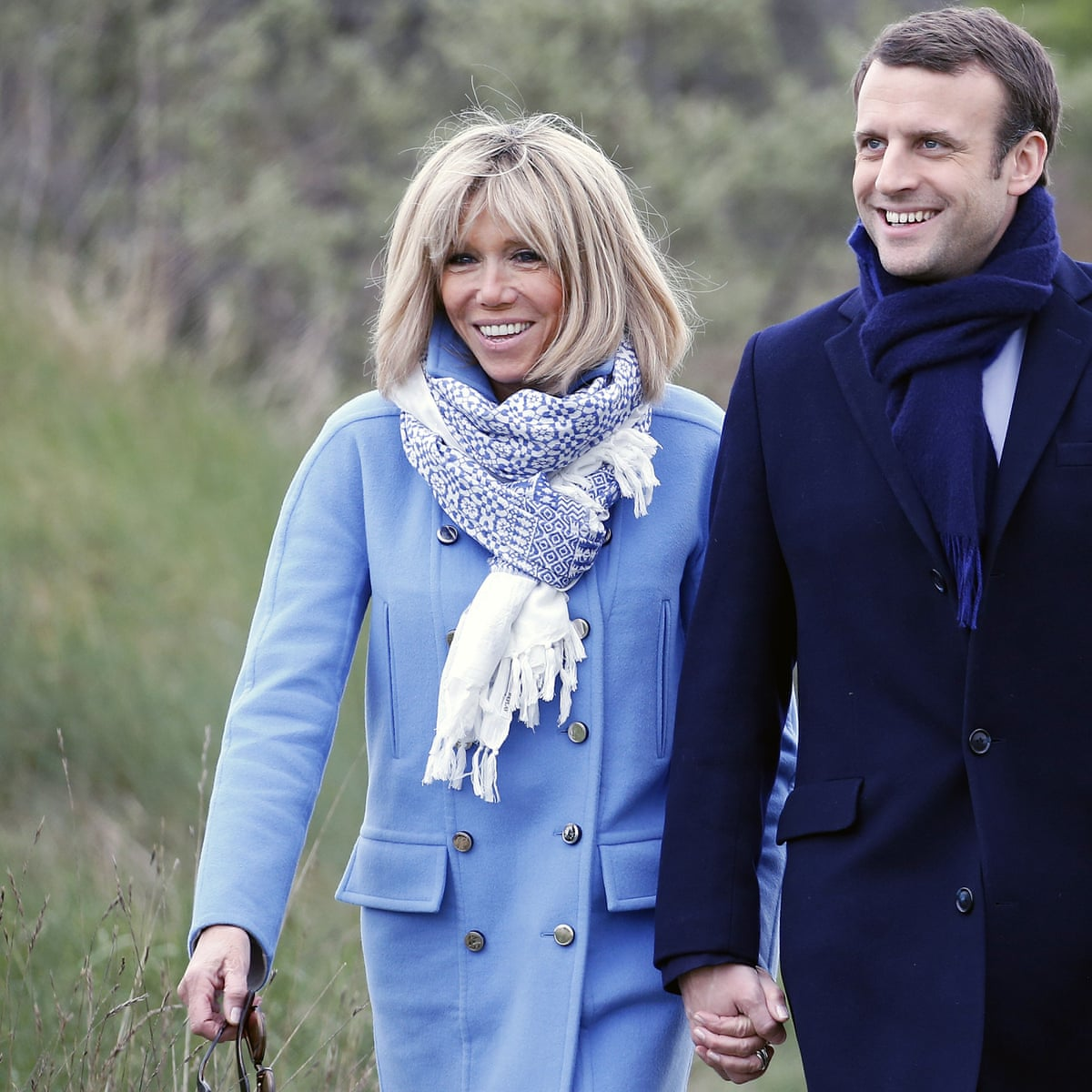 Ditch The Outrage Over Macron S Marriage Age Gap We All Have Fascists To Fight Emmanuel Macron The Guardian