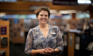 Clare Fisher, head of Alice Springs library