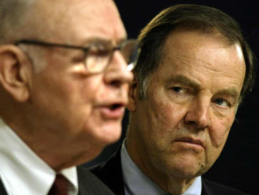 The 9/11 commission vice-chairman, former Democratic congressman Lee Hamilton of Indiana, and the chairman, former Republican governor Tom Kean of New Jersey.